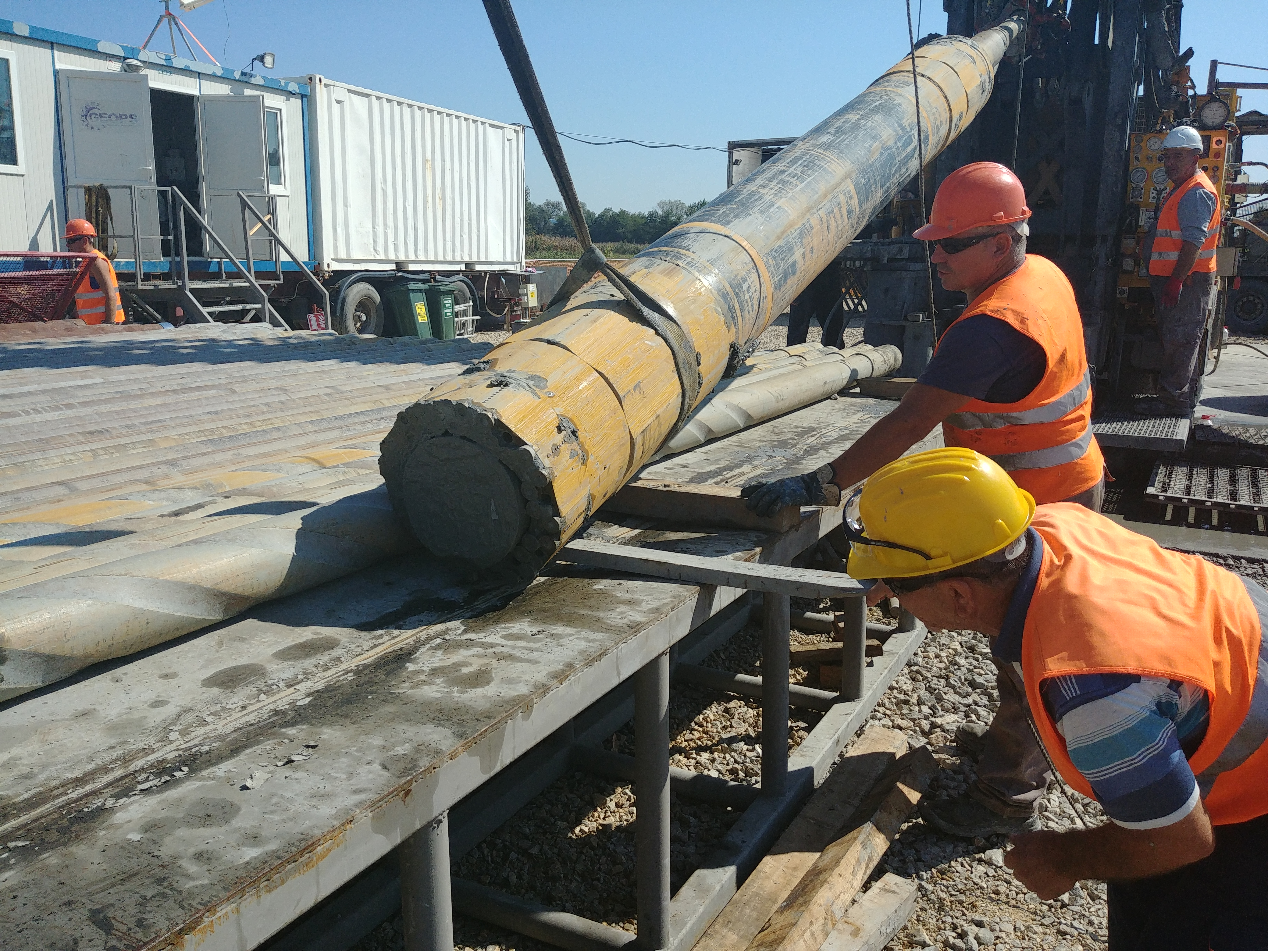 Geops-Bolkan Drilling Services perform large-diameter drilling in