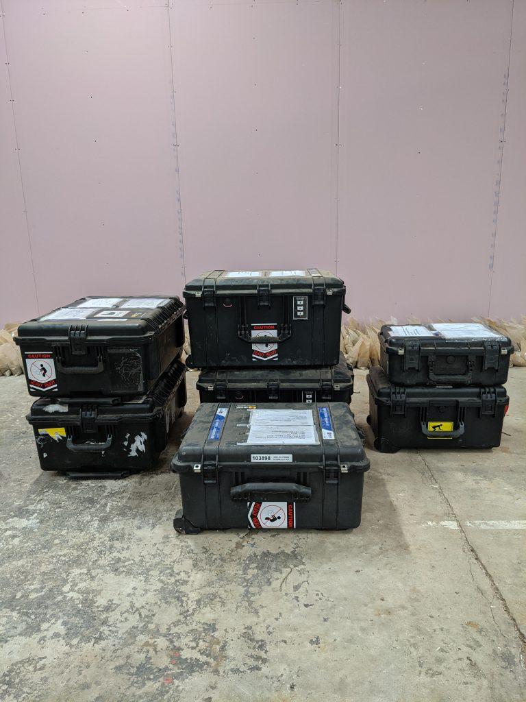 Boxed equipment