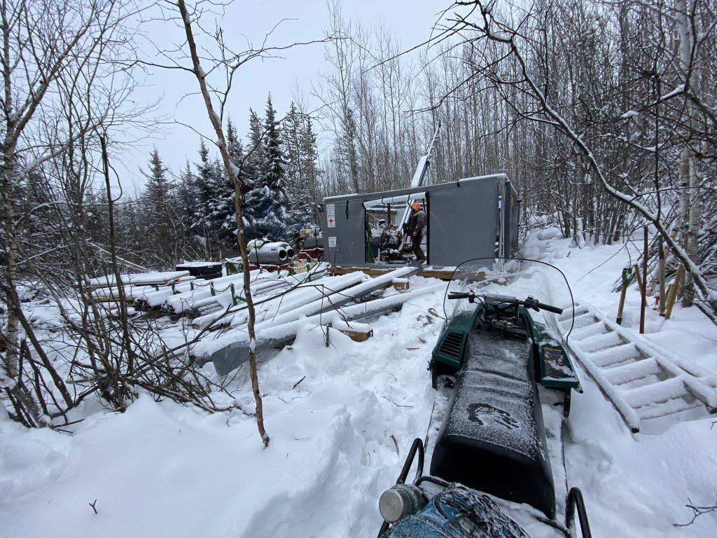 Bryson drill site