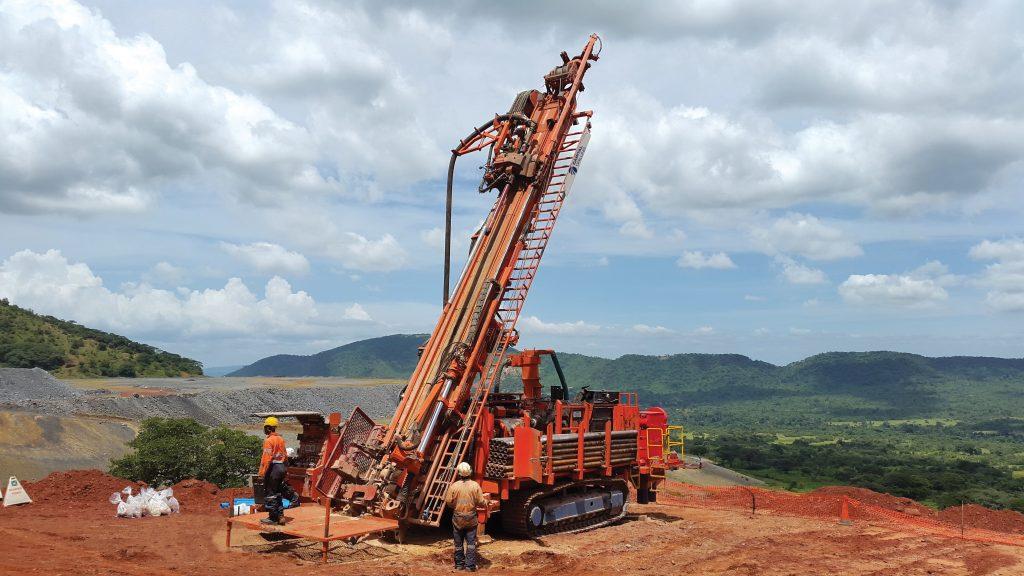 Capital Drilling rig