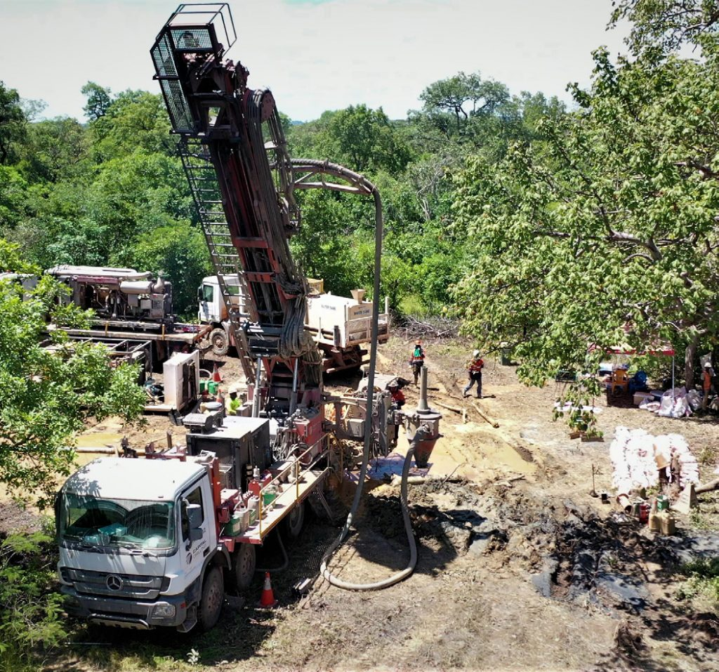 Exploration drilling in Mali