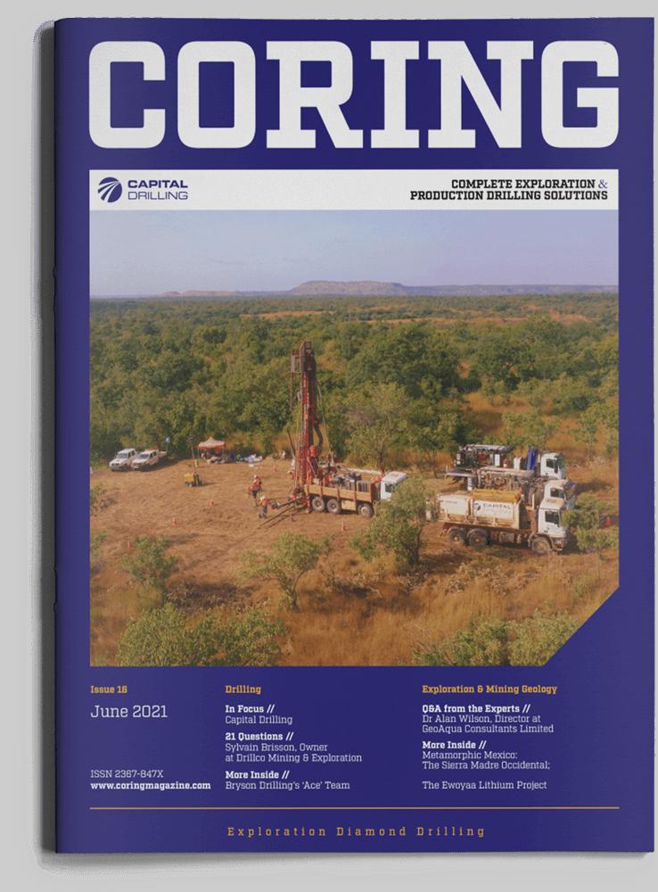 Coring Magazine Cover