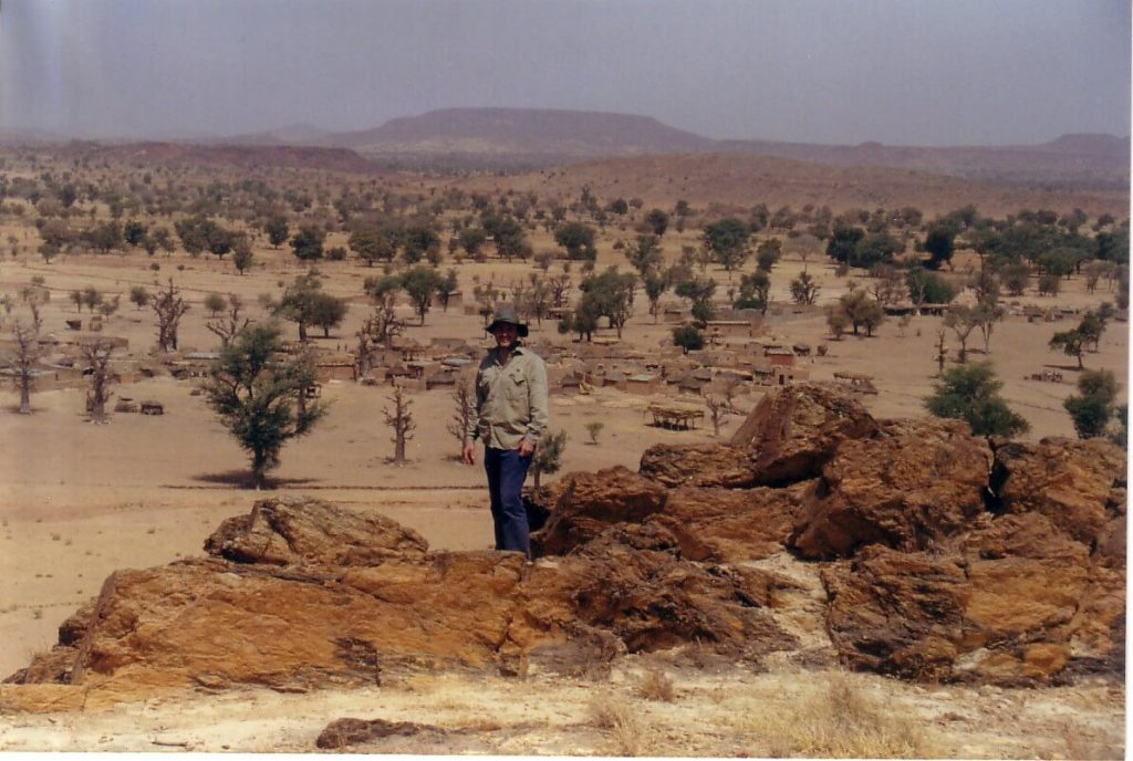 Brett in Bissa, Burkina Faso