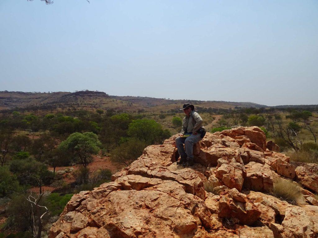Dr Brett in the wilderness