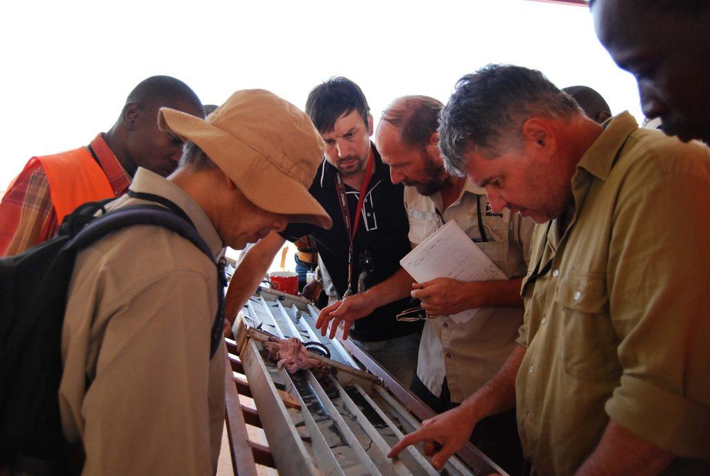 Brett teaching in Burkina Faso