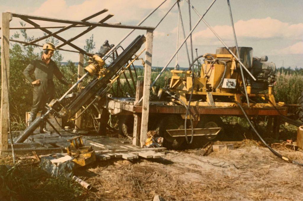 Kati Oy rig in 1980