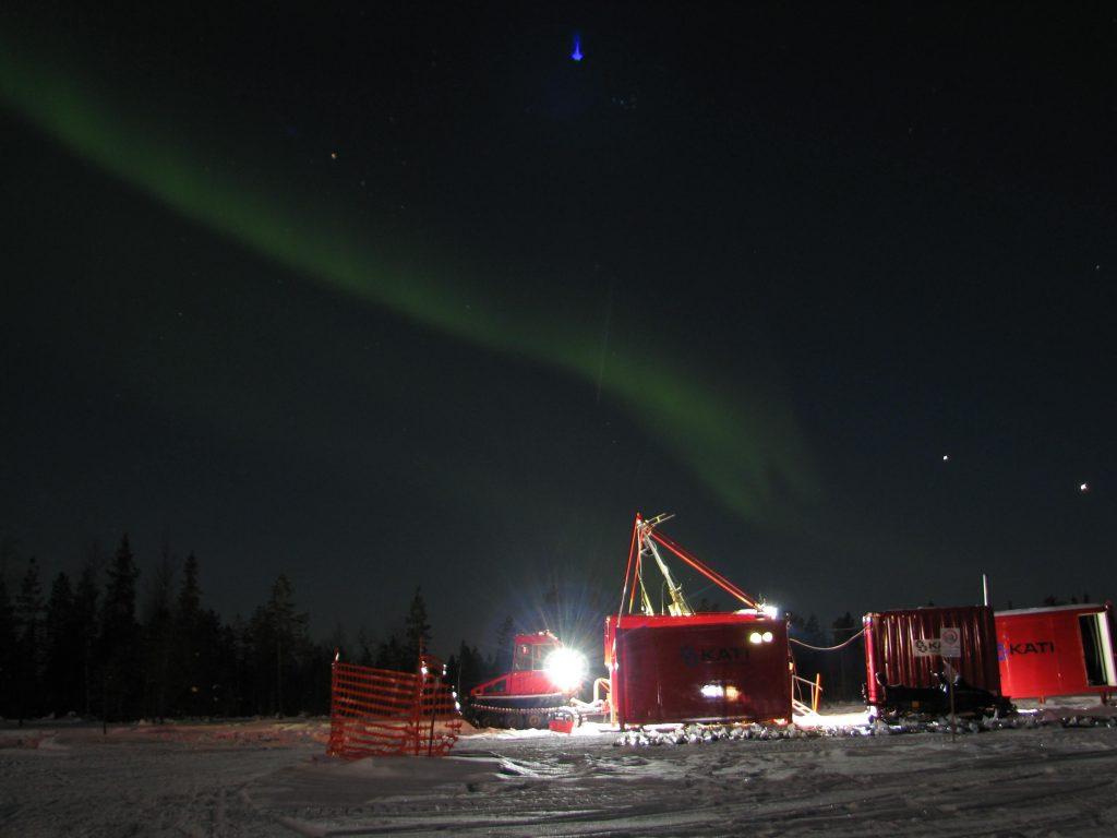 Kati rig in the Arctic